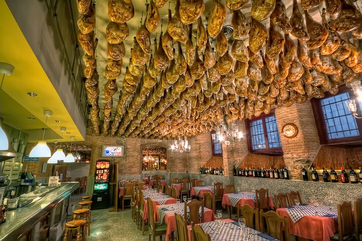 Best Restaurants Toledo Spain Jamon Serrano Bars Coffee S