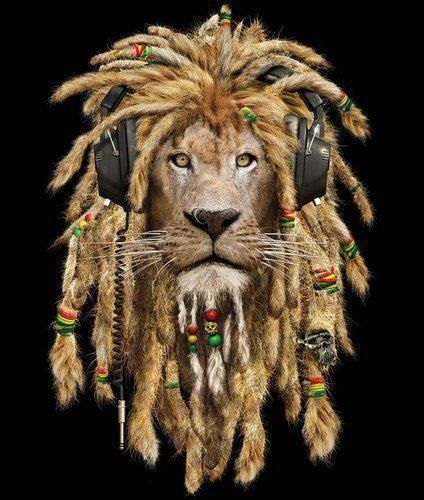 Wouldn't this LION be the ideal mascot for the House of Marley Range in S.A ?? @vodacom4u