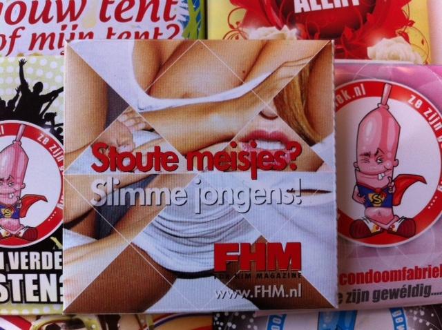 FHM Condoomhoesje - Stoute meisjes? Slimme jongens!