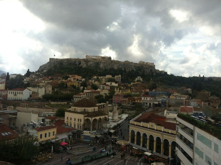 Athens view from ..A for Athens
