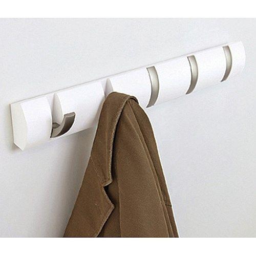 Overig | Umbra Flip Inklapbare Kapstok 51 cm - Wit | www.designstart.nl