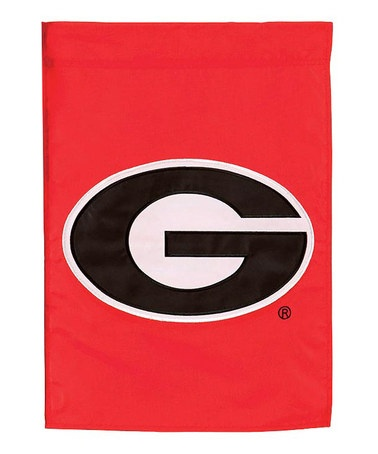 Take a look at this Georgia 18'' Garden Flag by Evergreen on #zulily today!