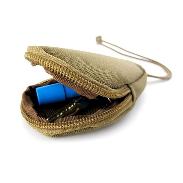 outdoor sport mini bag money car key wallet pouch tactical military caseHolderJC