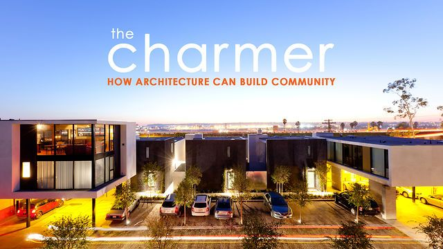 """the charmer / 7mns by BREADTRUCK TV. A documentary on architect Jonathan Segal's 19 unit residential complex in urban San Diego titled """"the charmer"""". By building on the tradition of the California courtyard apartments he shows how architecture can create community and add a little charm to the neighborhood."""