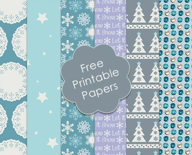 For November, we have designed some exclusive Christmas craft papers for you to download and use on your festive projects…