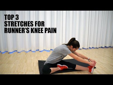 Top 3 Stretches for Runner's Knee Pain Relief - YouTube