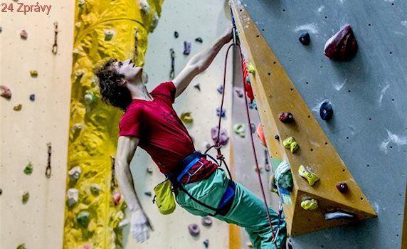 Ondra má z mistrovství Evropy v lezení na obtížnost opět stříbro