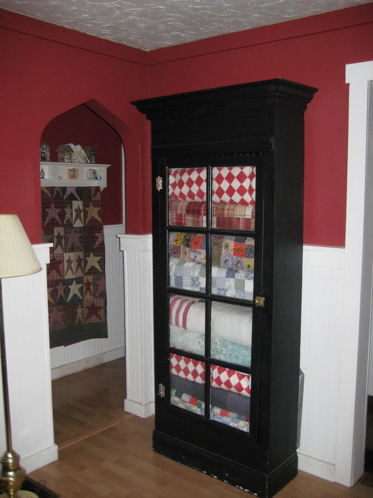 47 best quilt cabinet and display your treasures images on pinterest