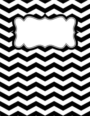 55 best tati images on pinterest binder cover templates binder free printable black and white chevron binder cover template download the cover in jpg or pronofoot35fo Images