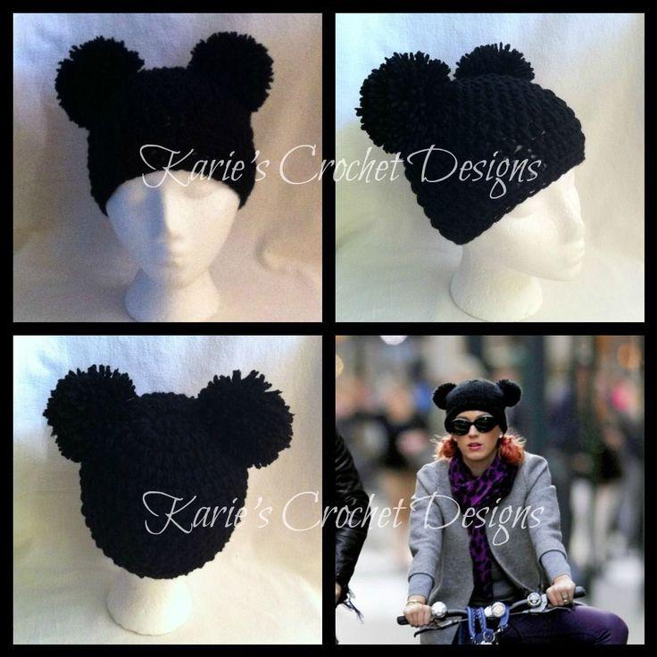 Mejores 28 imágenes de Crochet hat en Pinterest | Sombreros de ...