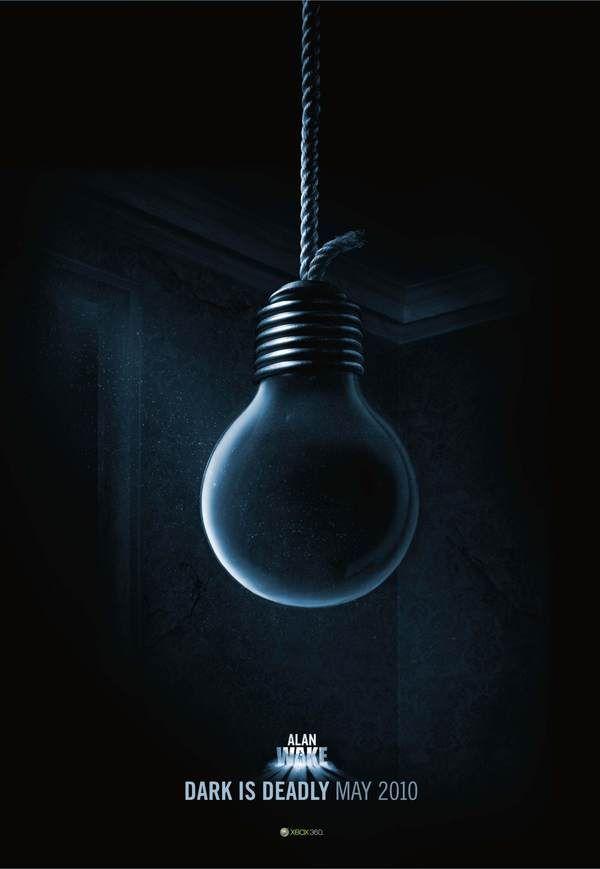 Alan Wake - Xbox by Arron Isaac, via Behance