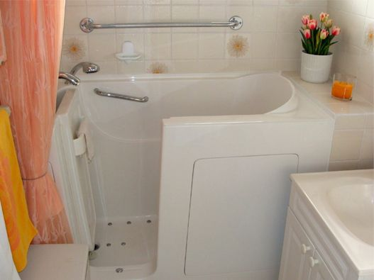 873 best images about rv decorating on pinterest rv for Tiny house walk in tub