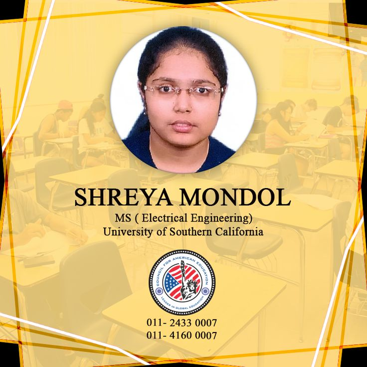 Bravo! Our exceptional performer, Shreya Mondol, has secured a seat in the MS in Electrical Engineering program at University of Southern California. Apart from USC, Shreya was also accepted to Boston University. We wish her all the very best for her future. #CAE #studyabroad #bostonuniversity #education #advisor #counselor