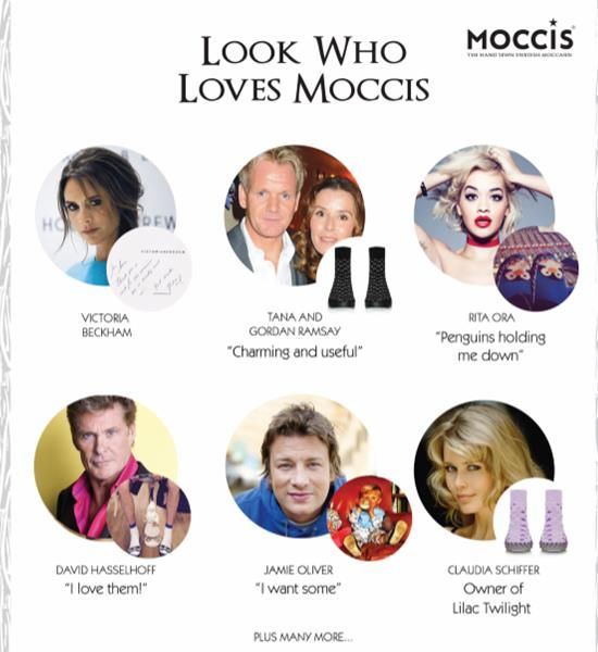 Is it a slipper or is it a sock? These celebrity endorsed Moccis are hugely…