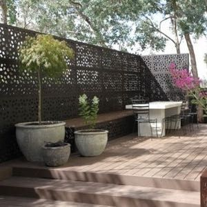 OUTDECO® Garden screen as seen on Channel 9's hit tv show, The Block