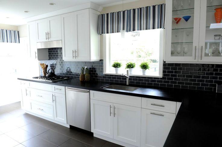 Best 25+ Black granite kitchen ideas on Pinterest   Dark ...