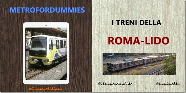 #metrofordummies I treni che girano sulla #romalido http://odisseaquotidiana.blogspot.it