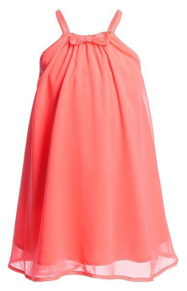 Neon Orange Chiffon 'Mary' Dress 42.00 £ - CdeC by Cordelia de Castellane