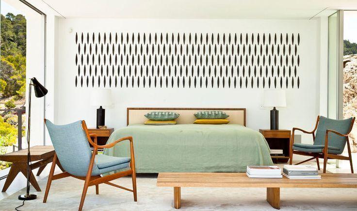 mid century bedroom ideas - Google Search