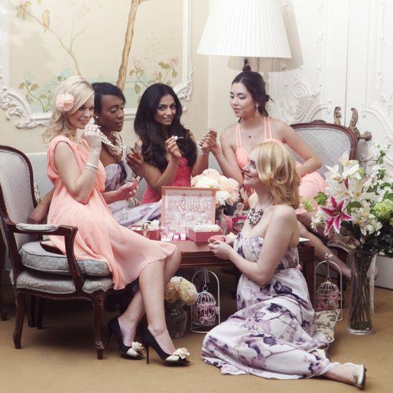 Bridal Shower Perfume Bar Ideas