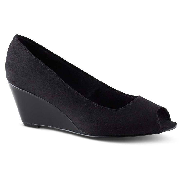 Klinton Black by COMFORT PLUS by PREDICTIONS - Payless Shoes Australia