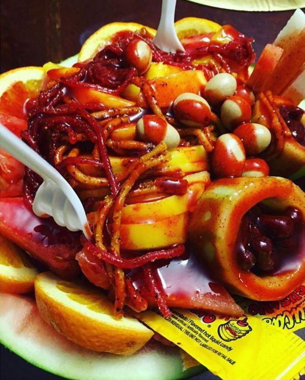 La sandía loca se burla de la comida saludable y es perfecta.