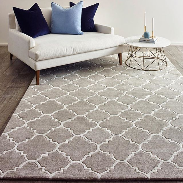 The Rug Collection-handmade, patten, NZ wool.