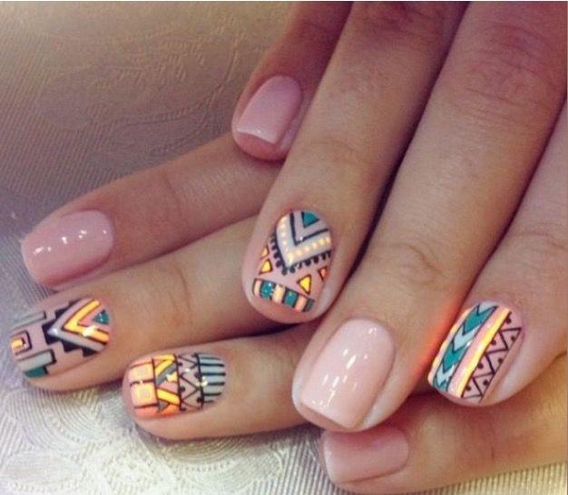 20 idées nail art dénichées sur Pinterest