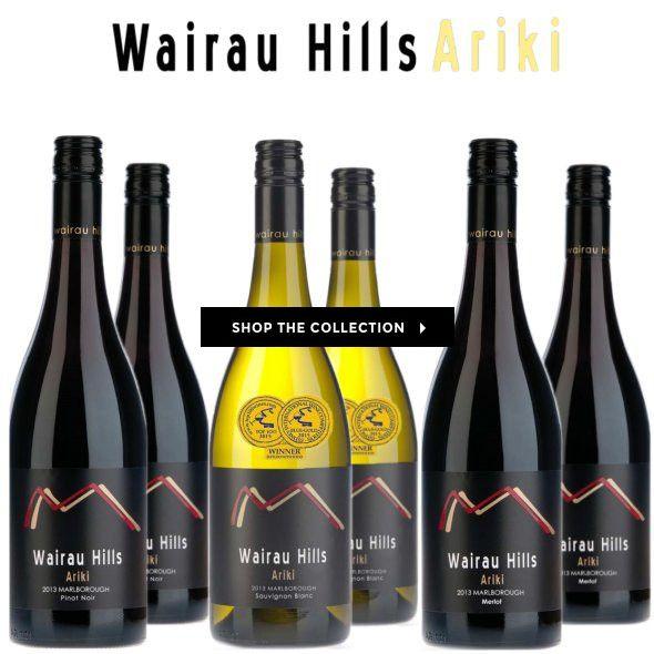 WAIRAU HILLS ARIKI COLLECTION! Premium Marlborough varieties that showcase the unique terroir characters. #wine #winecentral #buy #sale #wairau