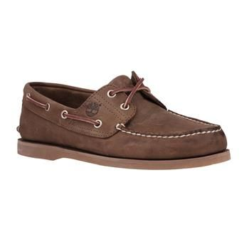 Timberland - Chaussures Icon Classic 2-Eye Boat Homme - Marron
