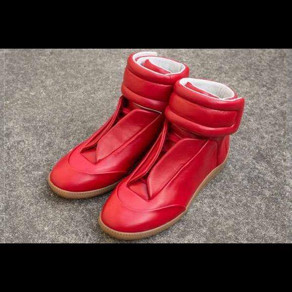 Mason Martin Margiela All red nude sole designer sneakers Mason Martin Margiela Shoes Sneakers