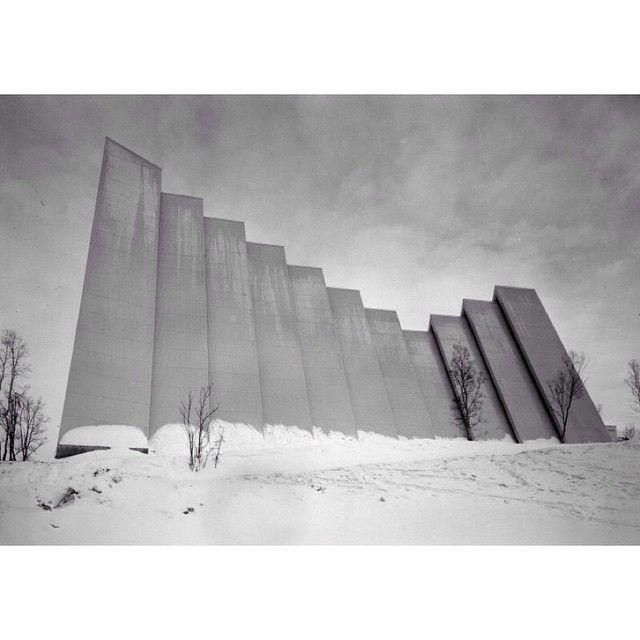 Arctic Cathedral Norway, architect Jan Inge Hovig 1965