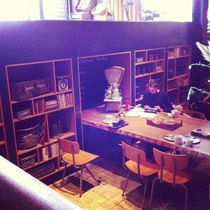 Starbucks The Bank leestafel