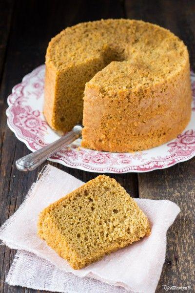 Chiffon cake al caffè #chiffon #caffè #chiffoncake #cake