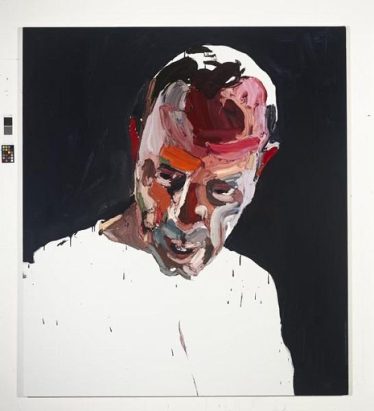 """Ben Quilty """"The Evo Project No. 8"""" 2011 oil on linen 170x150cm"""