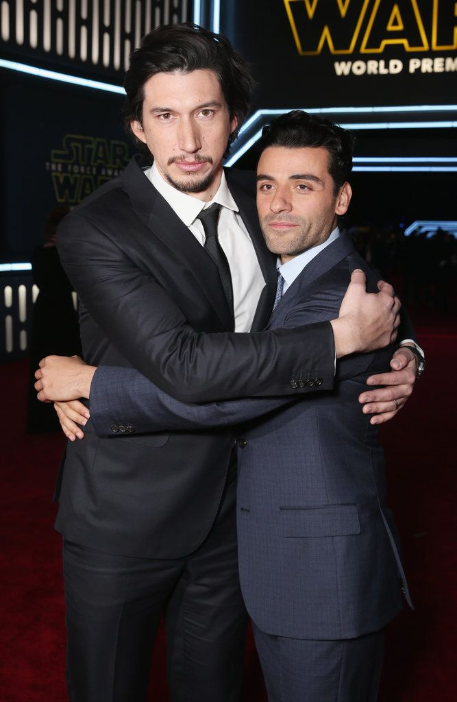 Pictured: Oscar Isaac and Adam Driver