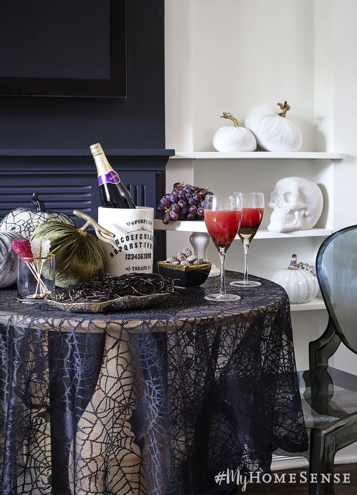Glam up your monster mash with velvet
