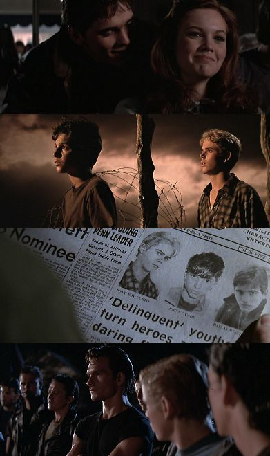 The Outsiders by S.E Hinton. <3 Its in my top 10...movies and books