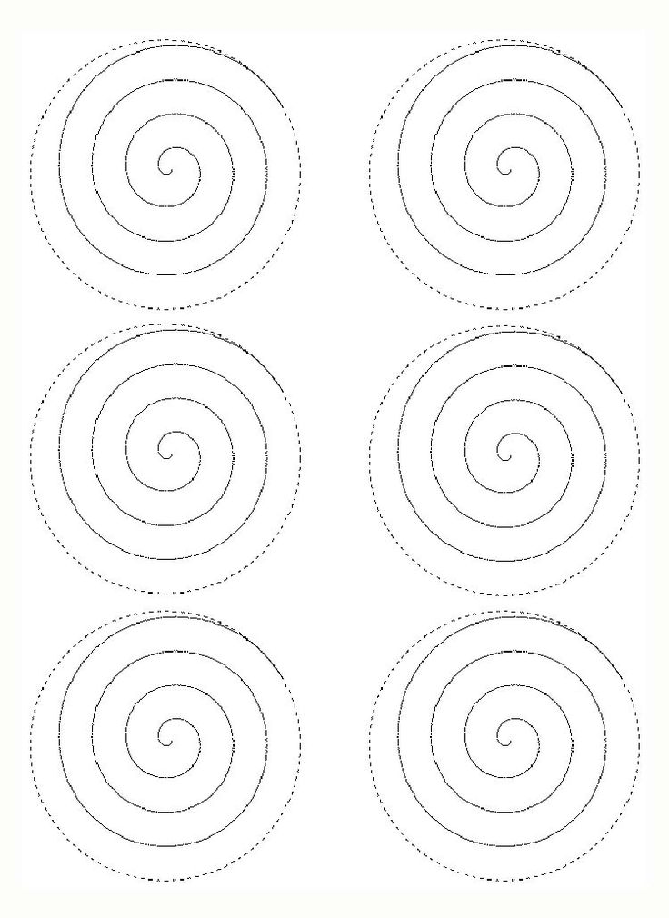 rolled paper roses template - rose spiral template mad hatter tea party pinterest