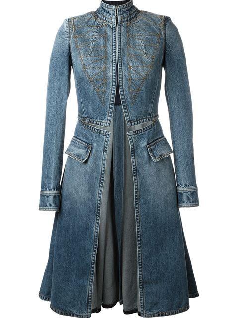 Best 25  Denim coat ideas on Pinterest | Quilted jacket, Denim ...