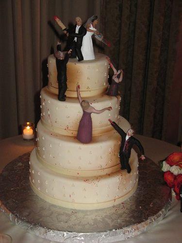 Awesome Zombie Wedding Cake #2