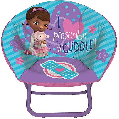 Disney Doc McStuffins Toddler Saucer Chair: Toddler : Walmart.com