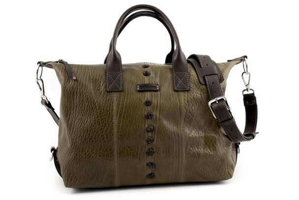 Borlino Duffel - Moss #luxury #style #bag #italian