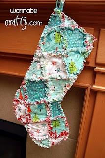 Rag Quilt Christmas StockingRag Christmas, Quilt Christmas, Ideas, Rag Quilt, Christmas Stockings, Sewing Machine, Quilt Stocking, Rag Stockings, Diy Christmas