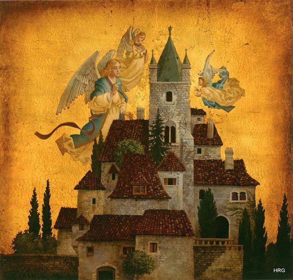 James Christensen - Angels Of My Village