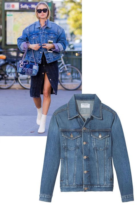 From jeans to denim jackets and skirts, shop the best denim pieces of the season: