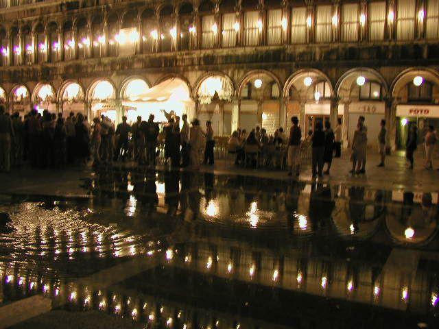 Venice--A Slight case of Nocturnal Flooding