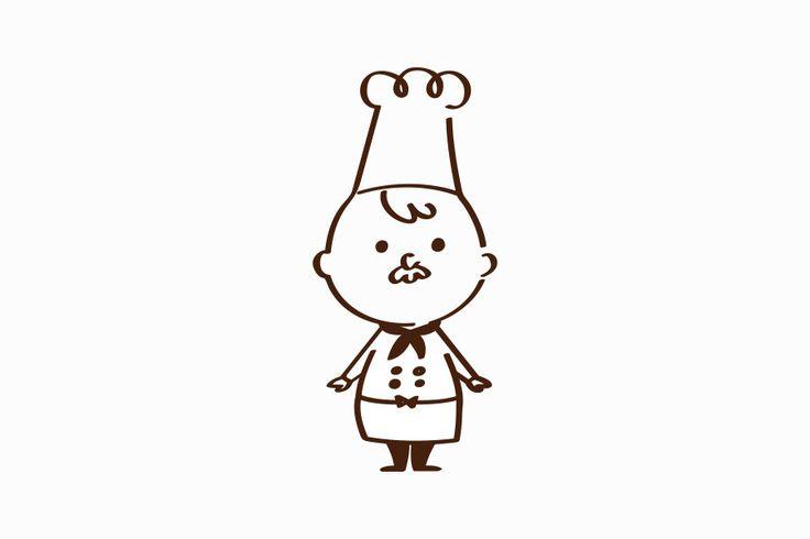 コックさんのキャラクターデザイン_名古屋市中区新栄 はらペコデザインラボ