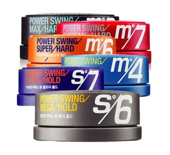 Mise En Scene Power Swing Super Hard Styling Hair Wax (80g x 6 Types) Free Ship #MiseEnSceneAmorePacific