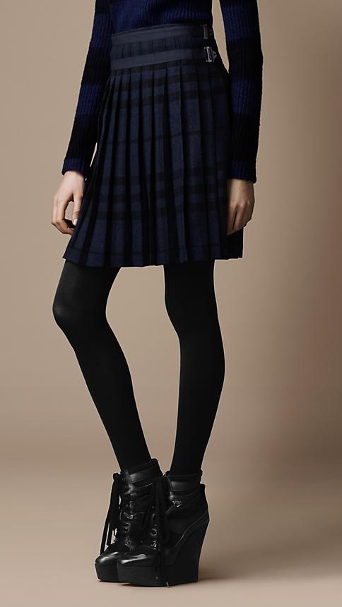 Burberry skirt. I love it